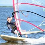 Windsurfing ved Ringkbing Fjord