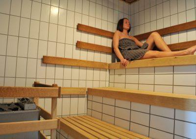Sauna i svømmehal
